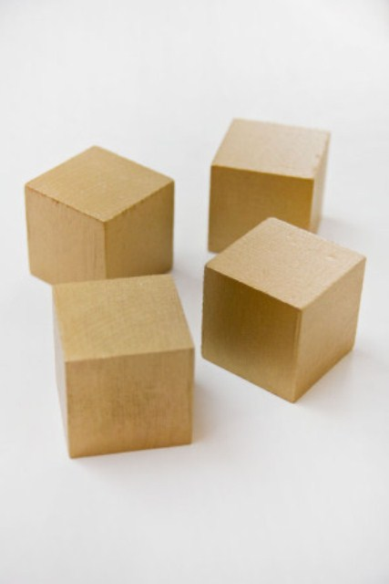 Diy Glitter Wooden Block Valentine Puzzles