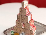 DIY Grocery Store Matchboxes Advent Calendar