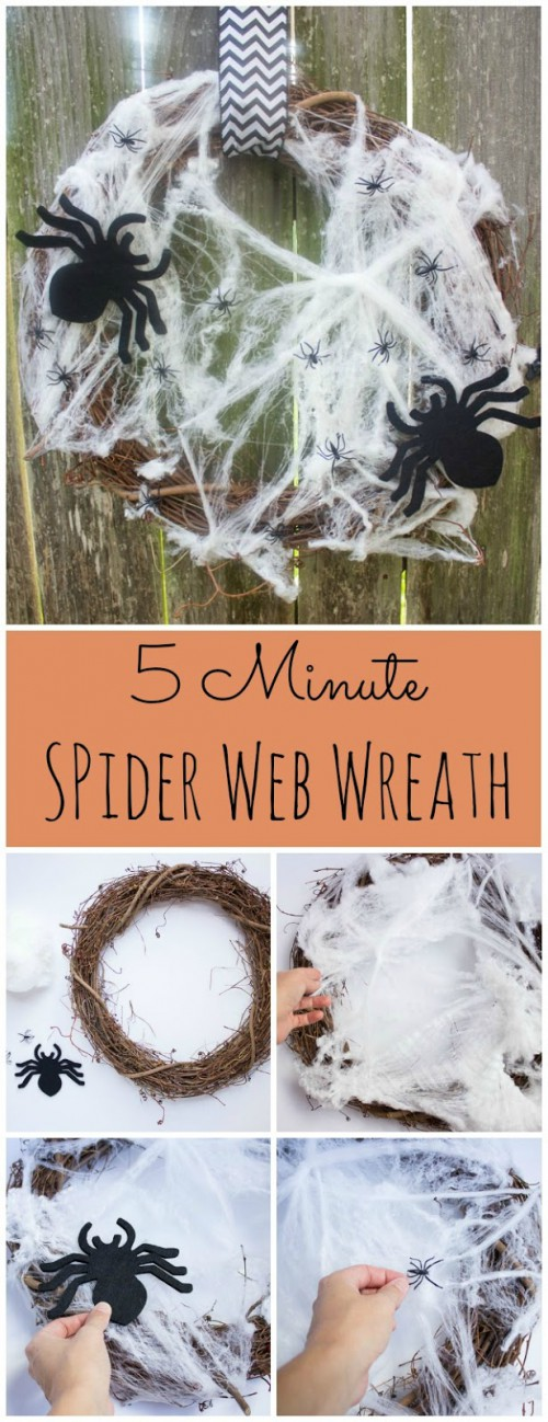 spider web wreath (via designimprovised)