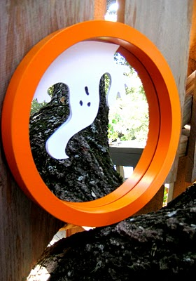Diy Halloween Mirror Wreath