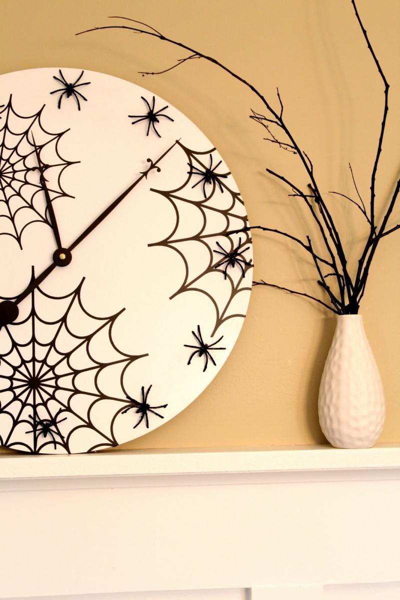 Diy Halloween Wall Clock