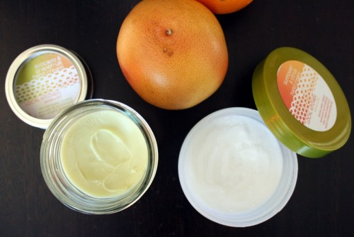 orange and beeswax hand cream