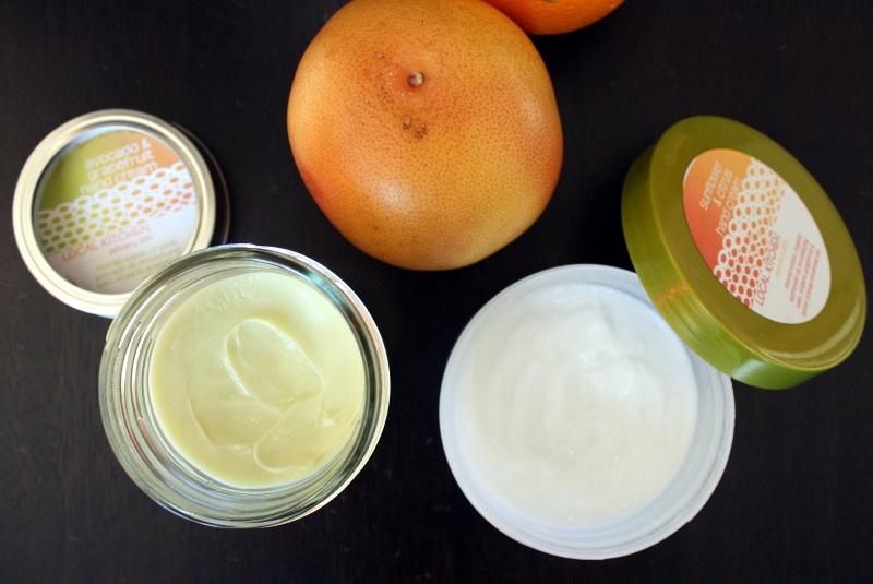 orange and beeswax hand cream