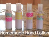 vintage homemade hand lotion