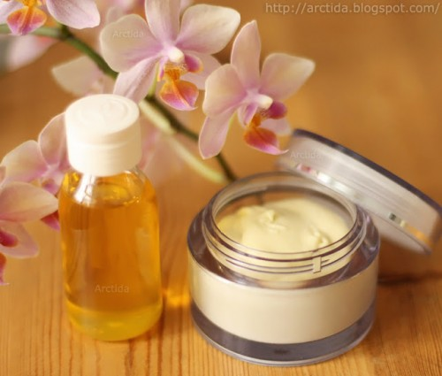DIY Hand Creme With Oils And Vitamins
