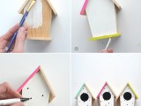 diy-hand-painted-modern-bird-houses-2