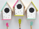 diy-hand-painted-modern-bird-houses-3