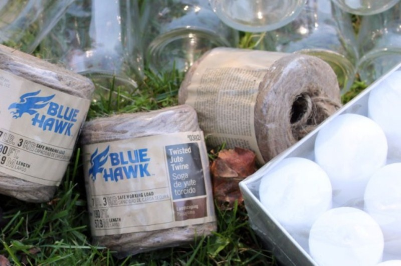 Picture Of diy hanging candle lanterns for outdoors  2