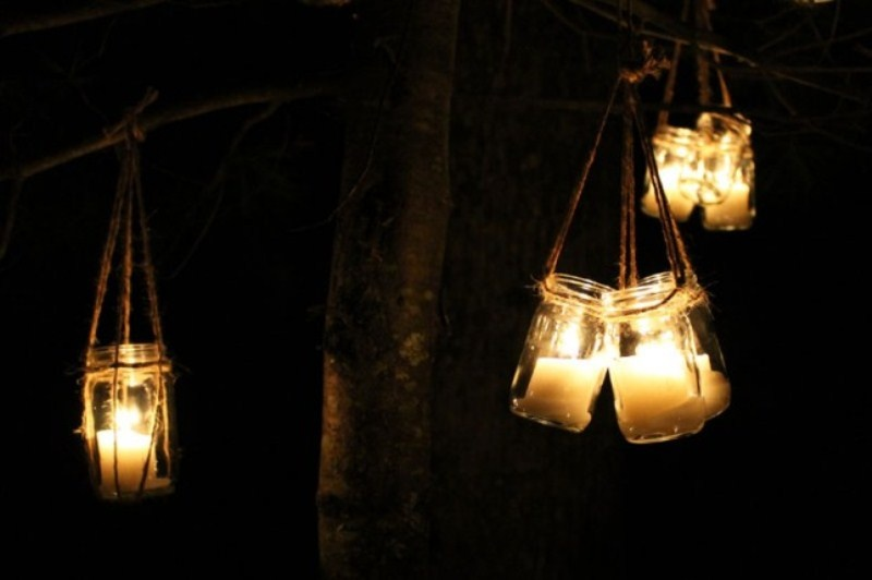 Picture Of diy hanging candle lanterns for outdoors  8