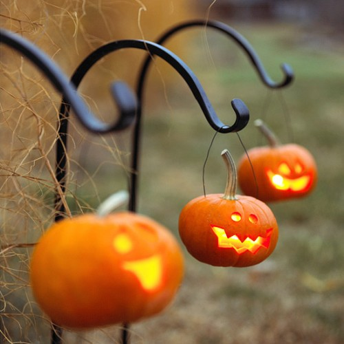 Diy Hanging Pumpkin Lanterns