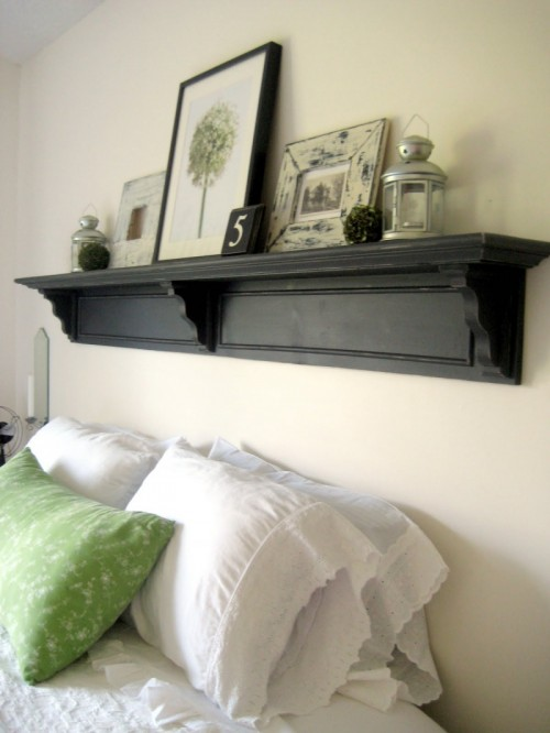 Headboard Plans With Shelves