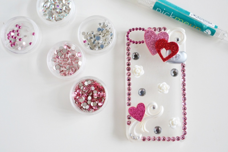 Diy Heart Mobile Phone Case For Valentines Day