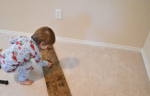 Diy Height Ruler For Your Kid