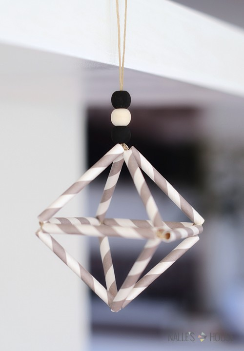 Diy Himmeli Christmas Ornament