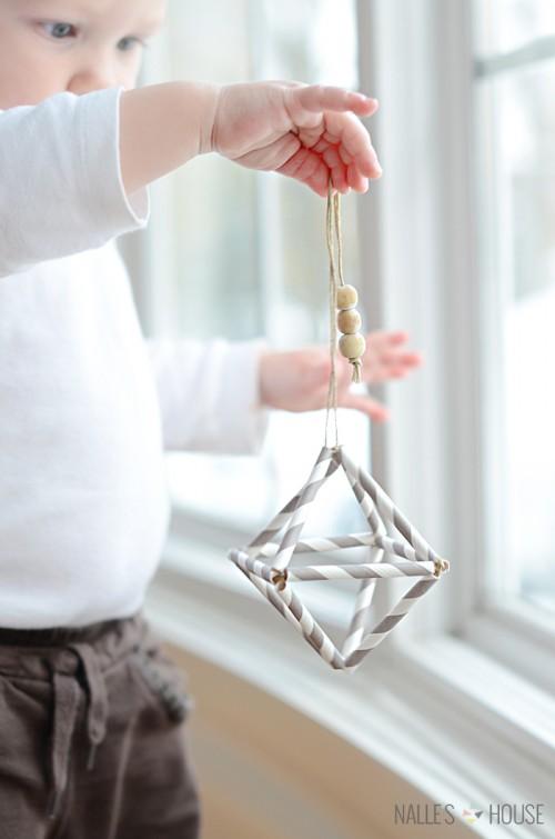 Diy Himmeli Christmas Ornament