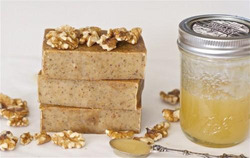 Diy Honey Walnut Milk Soap
