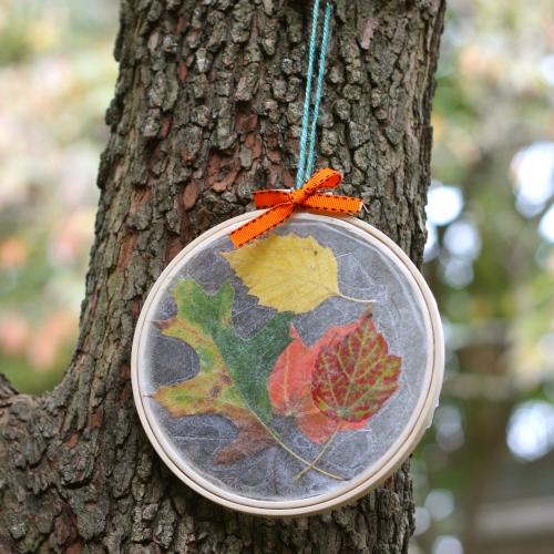hoop leaf suncatcher (via buzzmills)