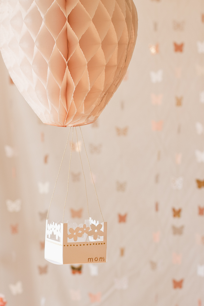 Vintage bedside table ideas - Diy Hot Air Balloon Party Decorations Shelterness