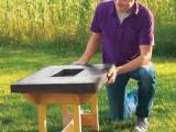 Diy Hypertufa Table For Your Patio