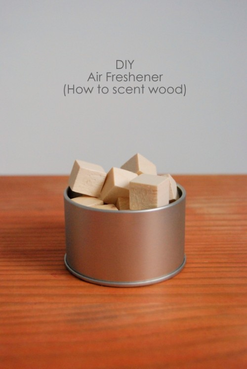 scented wood cubes (via northstory)