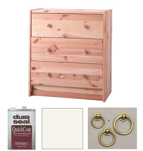 How To Transform An IKEA Sideboard Into A Stylish Bedside Table ...