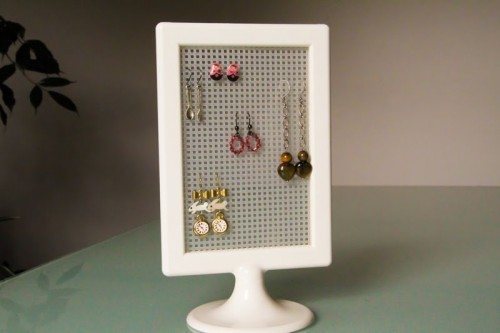 DIY Cheap IKEA Earnings Organizer