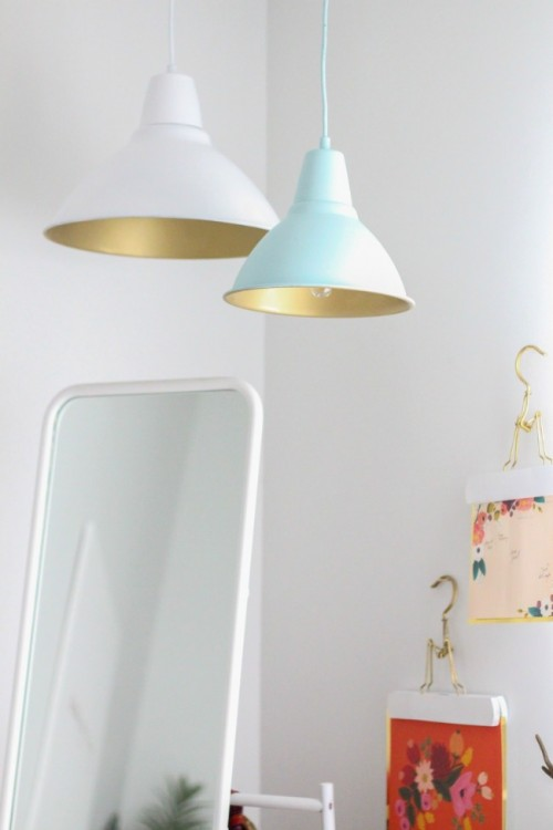 7 diy ikea foto pendant lamp hacks youll love shelterness repainting hack via blog mozeypictures Images