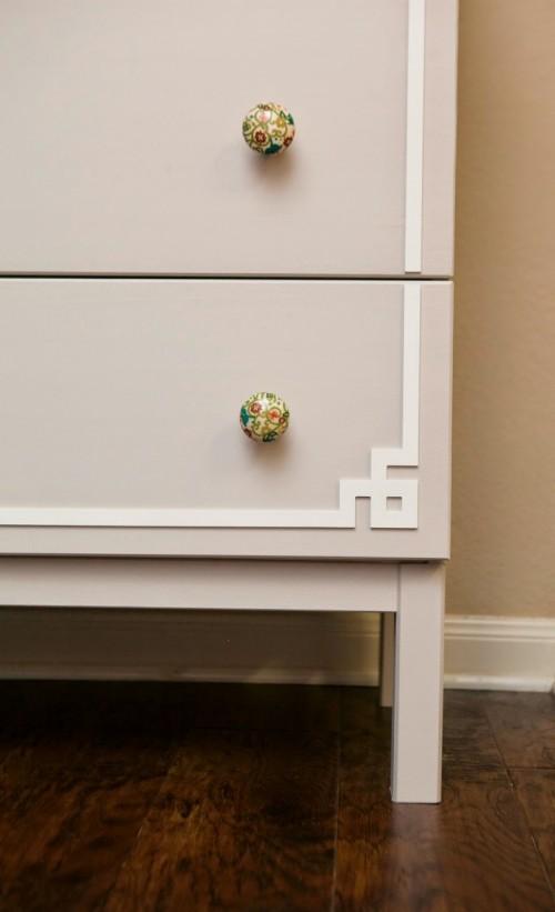 DIY IKEA Hack: Cute Tarva Dresser Makeover