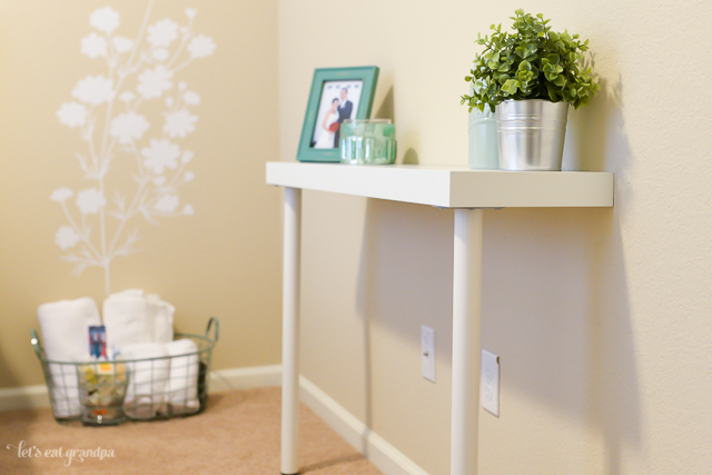 Diy Ikea Hack Narrow Console Table