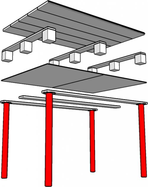 Diy Ikea Pallet Computer Desk