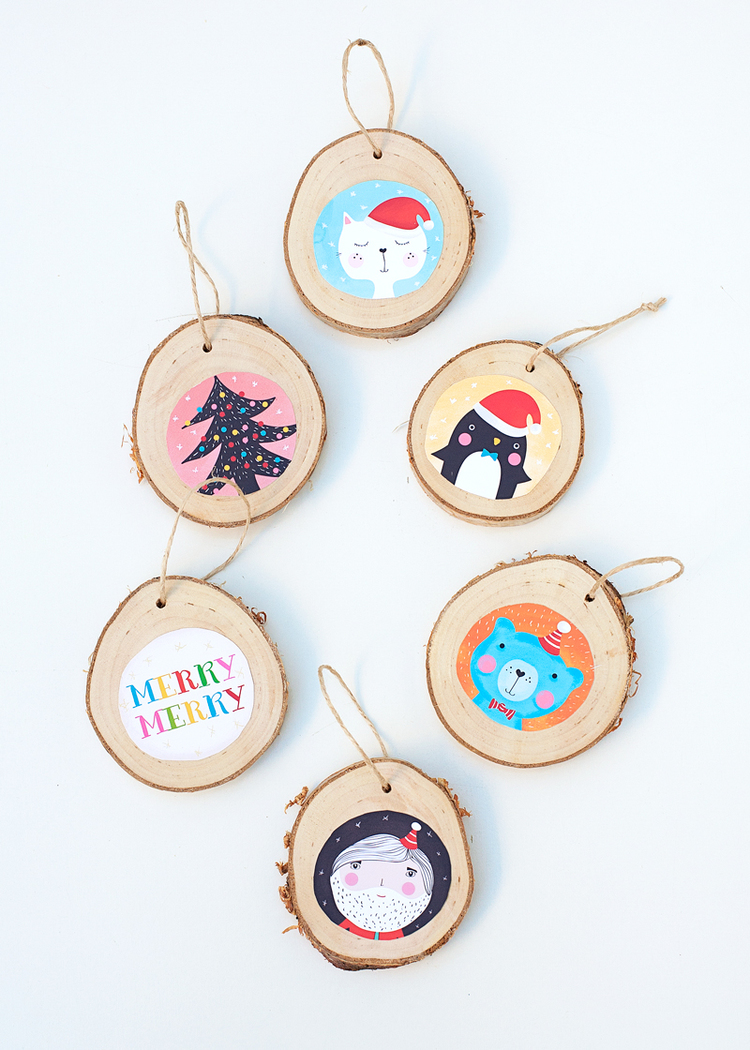 Picture Of diy illustrated christmas ornaments to make with kids  1