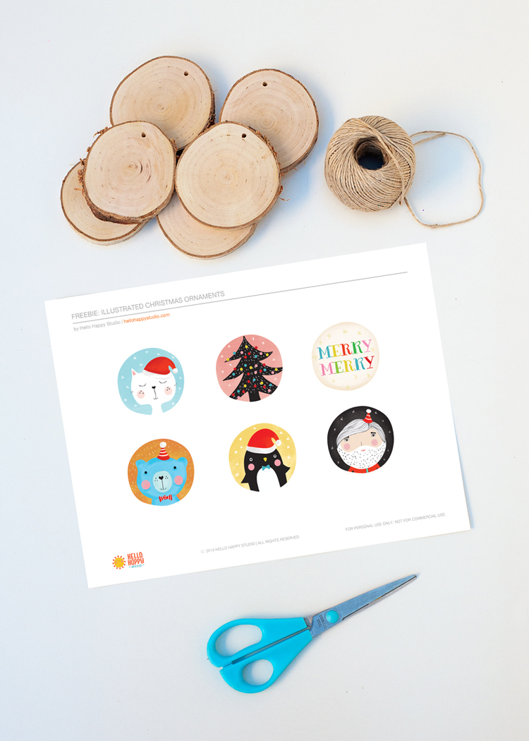 Picture Of diy illustrated christmas ornaments to make with kids  2