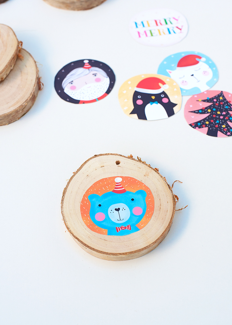 Picture Of diy illustrated christmas ornaments to make with kids  4