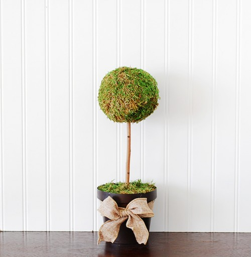 moss topiary tree (via craftsunleashed)