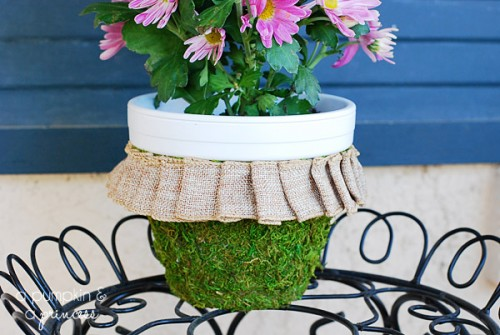 moss clay pot (via apumpkinandaprincess)