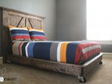 platform bed on wheels