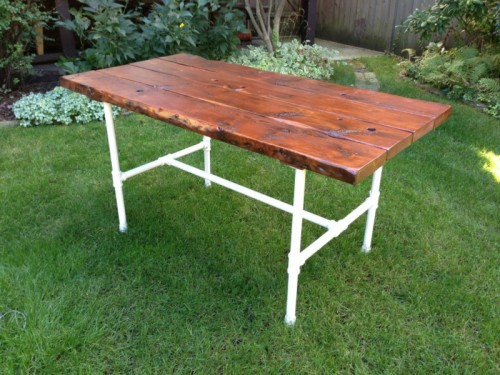 industrial farm table (via thepastoralist)