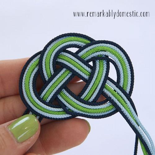 Diy Infinity Knot Cord Bracelet