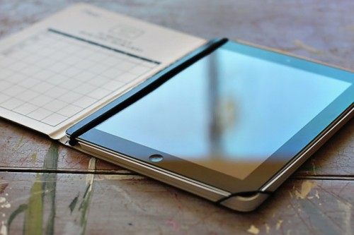 DIY Ipad Case From A Composition Notebook
