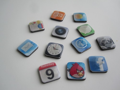 Diy Iphone Angry Birds Magnets