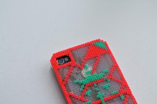 Diy Iphone Cover Of Hama Minib Beads
