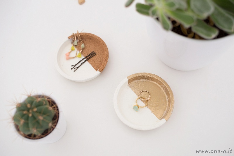 Picture Of diy jewelry dishes from cork coasters  6