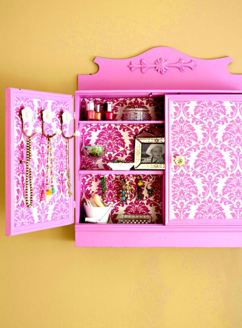 Diy Jewelry Storage Cabinet
