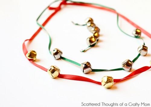 DIY Jingle Bells Jewelry