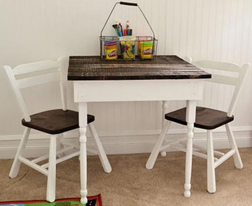 Diy Kids Pallet Table
