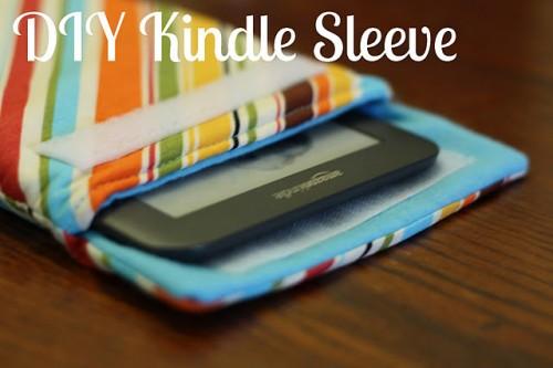 DIY Kindle Sleeve