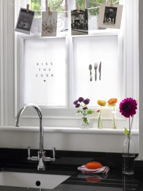 DIY Kitchen Windows Decor