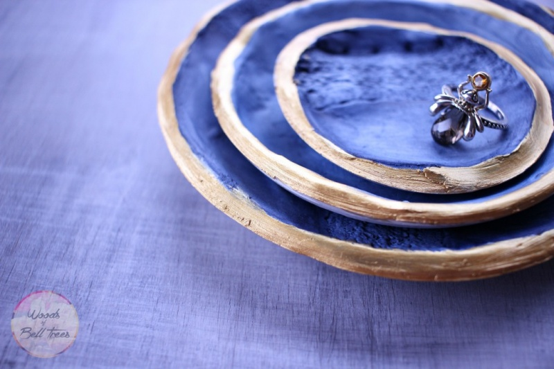 Picture Of diy lacy nesting bowls in navy color  1