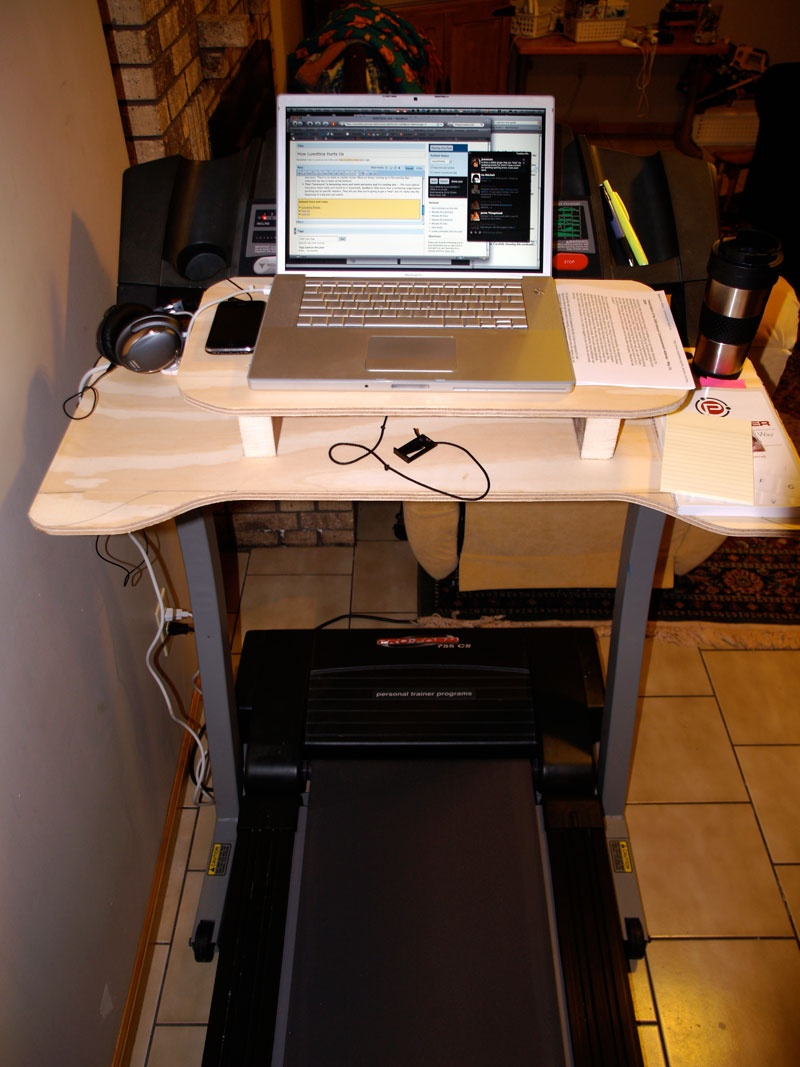 Diy Laptop Desk For Treadmill