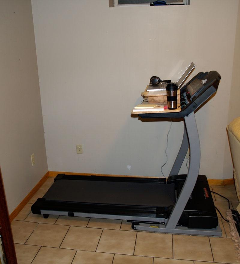 Diy Laptop Desk For Treadmill